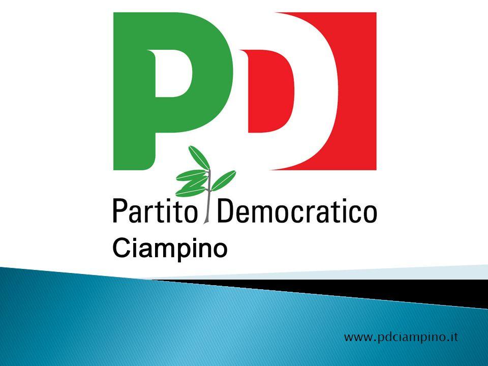 Regolamento per la nascita del Partito Democratico a Ciampino e nella Provincia di Roma