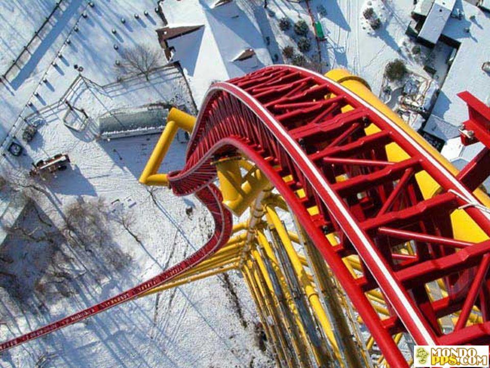Alcune caratteristiche: Inaugurato il 04-05-2003 Lunghezza: 853,4 m Altezza: 128 m Vel.