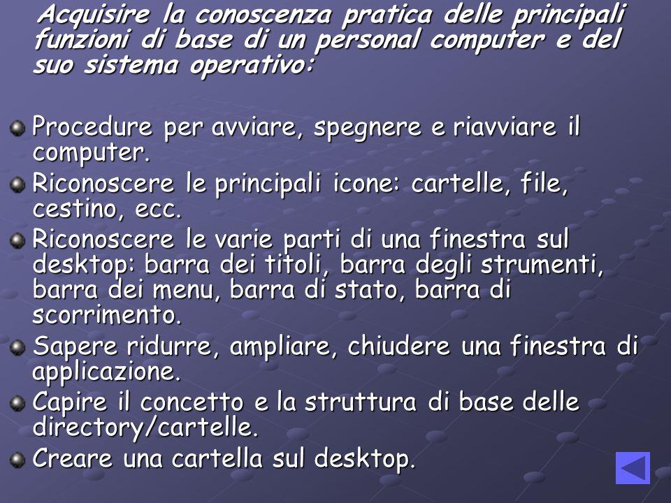 Le Le attività di informatica verranno realizzate utilizzando due ore settimanali di compresenza fra linsegnante di matematica e linsegnante di lingua italiana.
