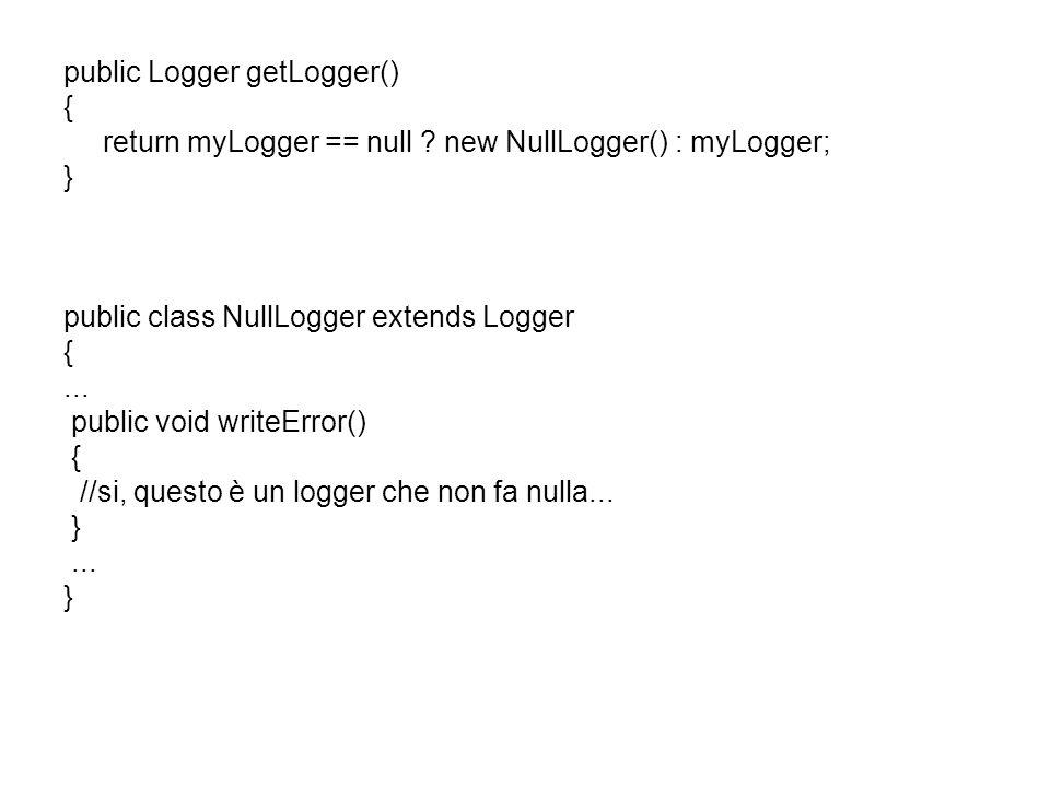 public Logger getLogger() { return myLogger == null .