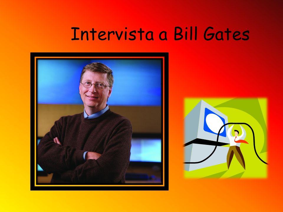 Intervista a Bill Gates