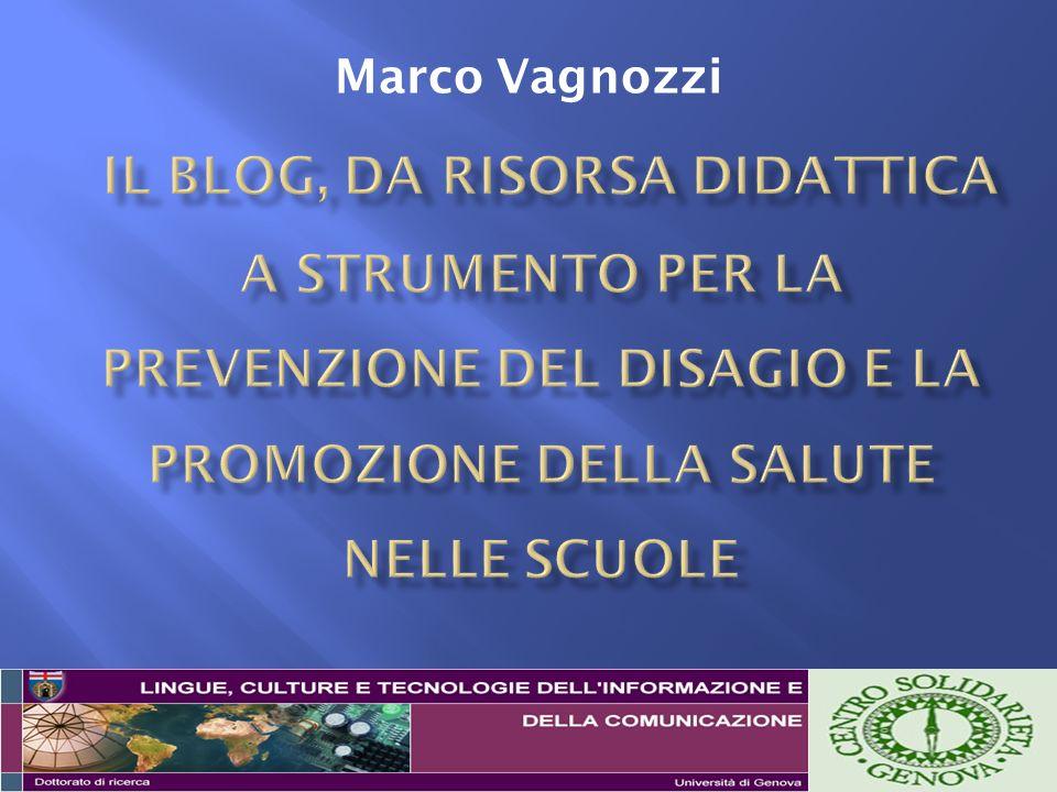 Banzato M., Blog e didattica.TD – Tecnologie Didattiche, 38, 2006, 23-31.