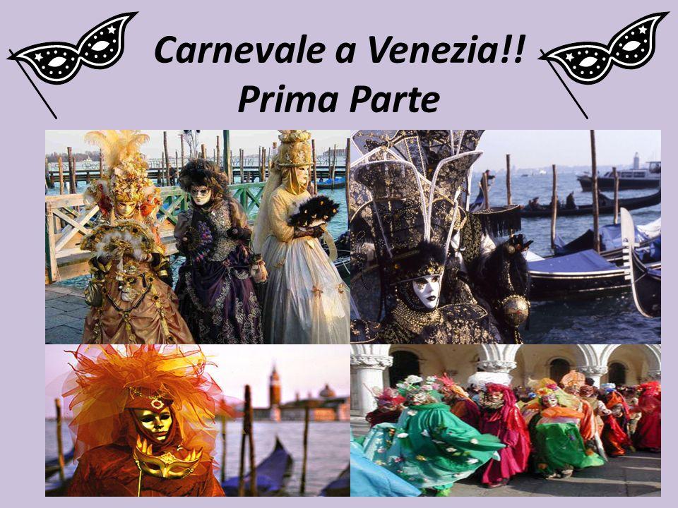 Lanno scorso ho fatto un viaggio a Venezia per Carnevale!