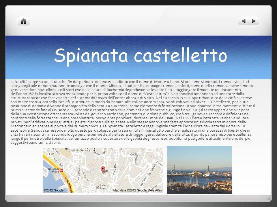Spianata castelletto La località sorge su unaltura che fin dal periodo romano era indicata con il nome di Monte Albano. Si presume siano stati i roman