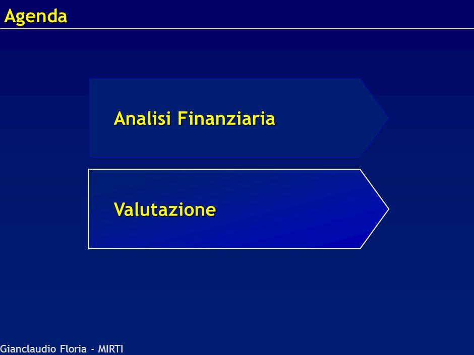 Gianclaudio Floria - MIRTI Agenda Valutazione Analisi Finanziaria