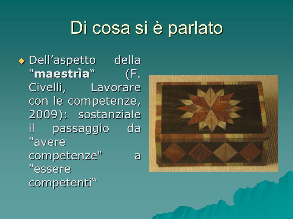 Rischio La centratura sulla valorizzazione della persona crea scompenso nelletica valoriale METAFORA della TORTA (Civelli)