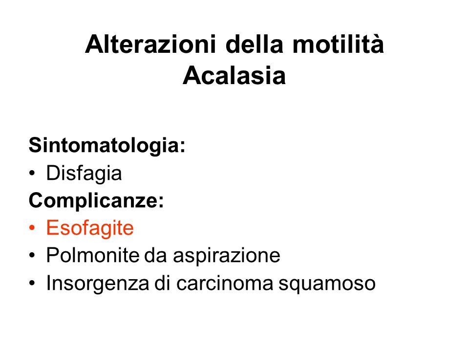 Più raramente può essere coinvolto anche lo stomaco, dove la sottomucosa è estesamente fibrotica Sclerodermia
