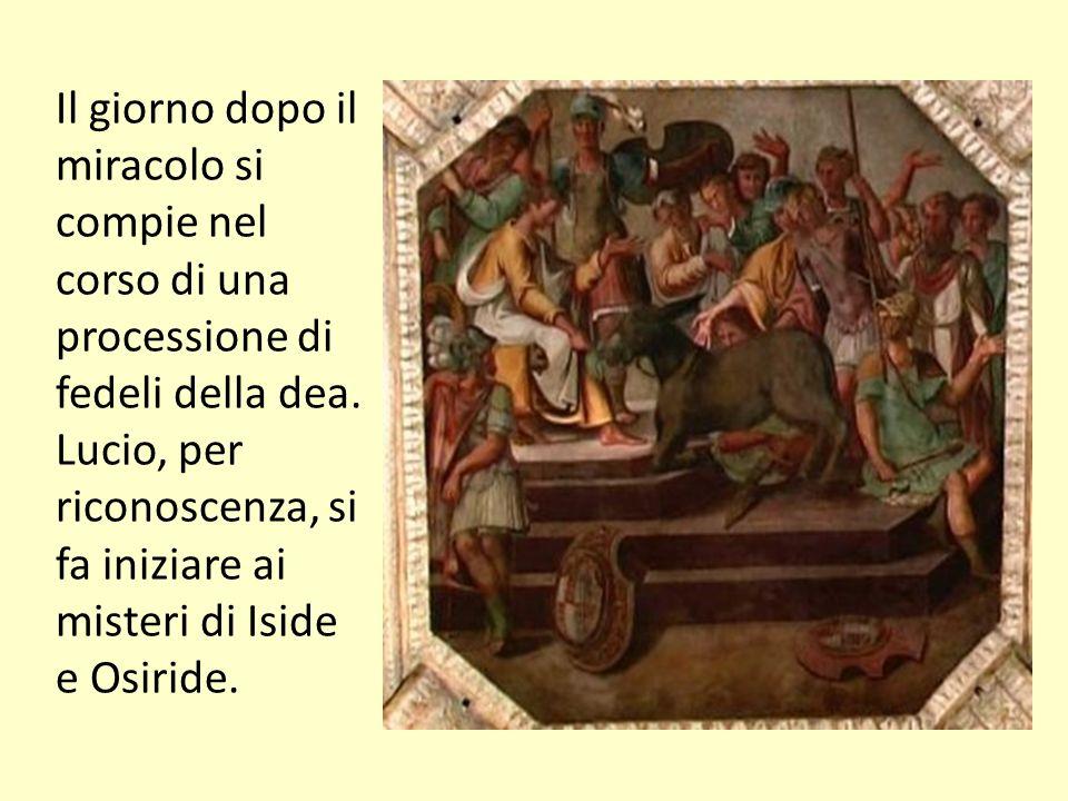 elenarovelli22 La chiave allegorica: il significato religioso L ultima parte del romanzo (libro XI), che si svolge in un clima di forte suggestione mistica ed iniziatica, non ha equivalente nel modello greco.