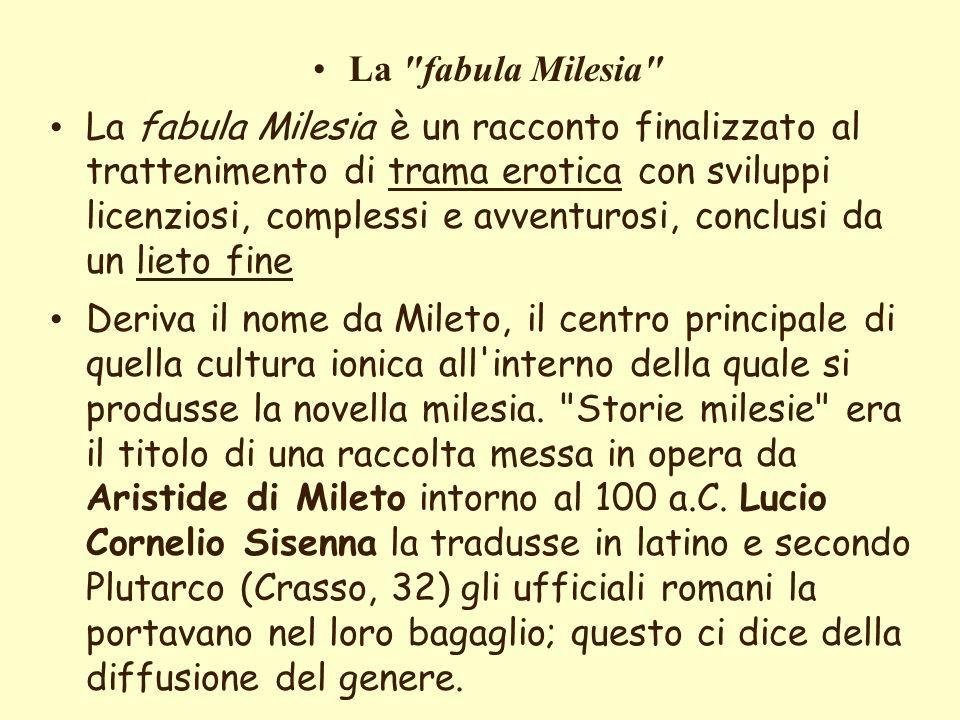 elenarovelli6 La fabula milesia.Citazioni dalle MetamorfosiLa fabula milesia.