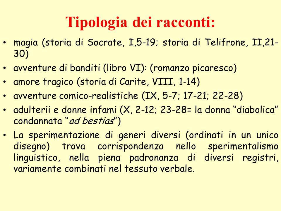 elenarovelli9 Trama La storia narra di un giovane chiamato Lucio (identificato con lo stesso narratore), appassionato di magia.