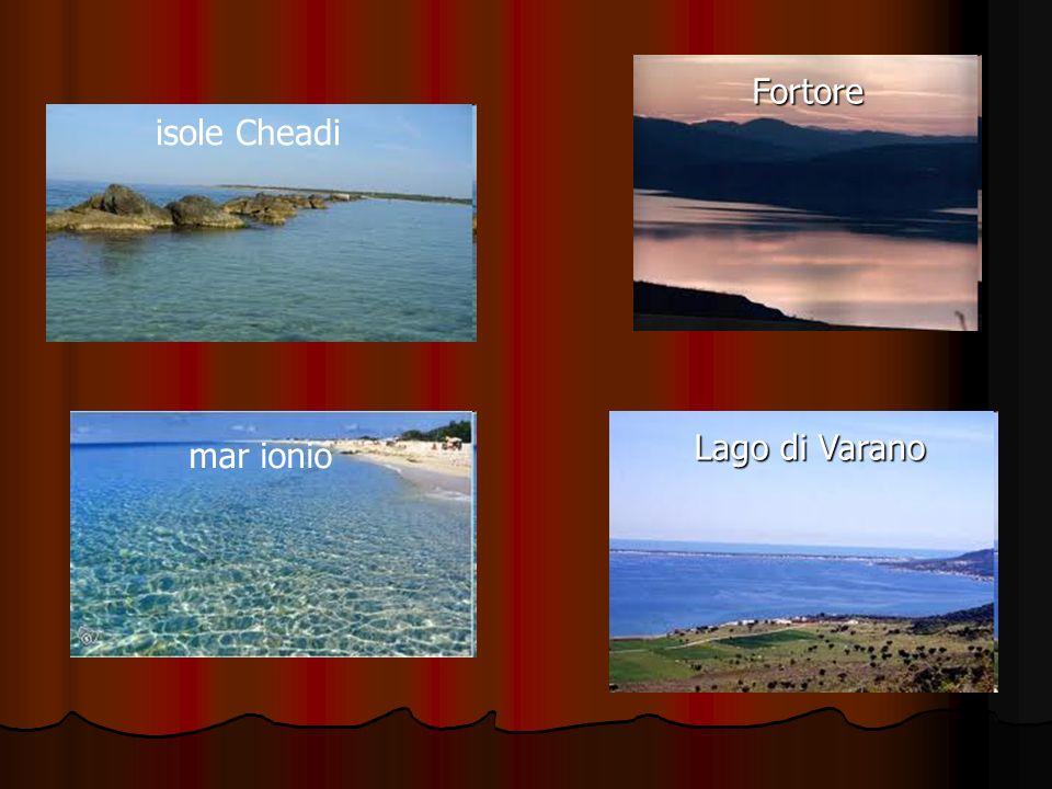 Fortore Lago di Varano isole Cheadi mar ionio