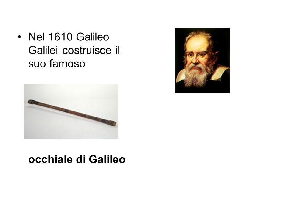 nel 1624 ne deriva da questo il perspicillum (o occhialino).