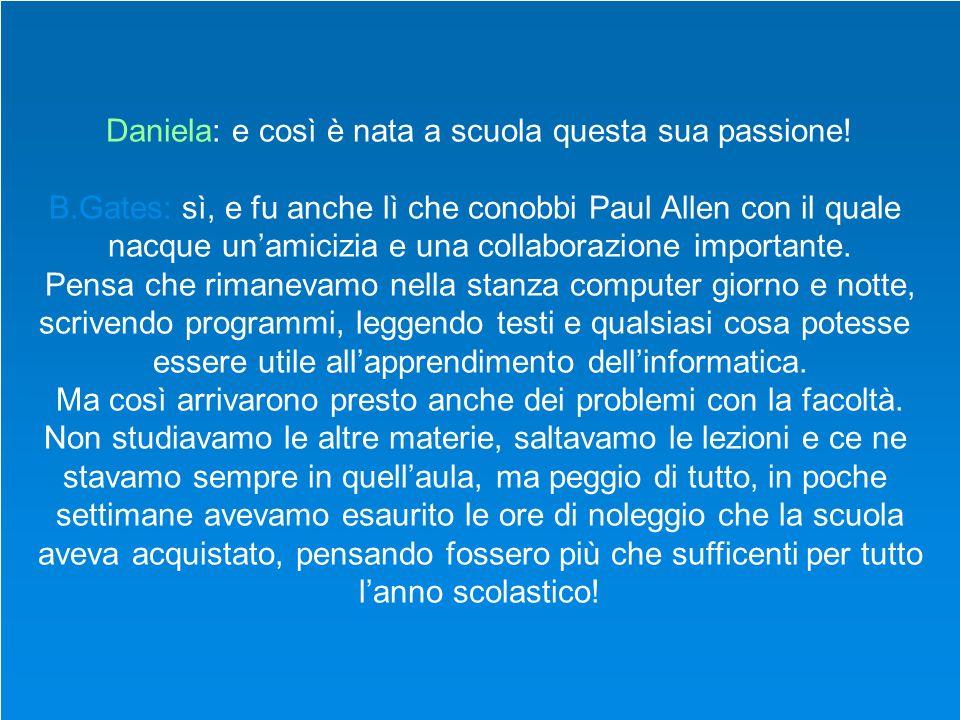 Daniela: Lei ha scritto anche un libro, me ne vuole parlare.