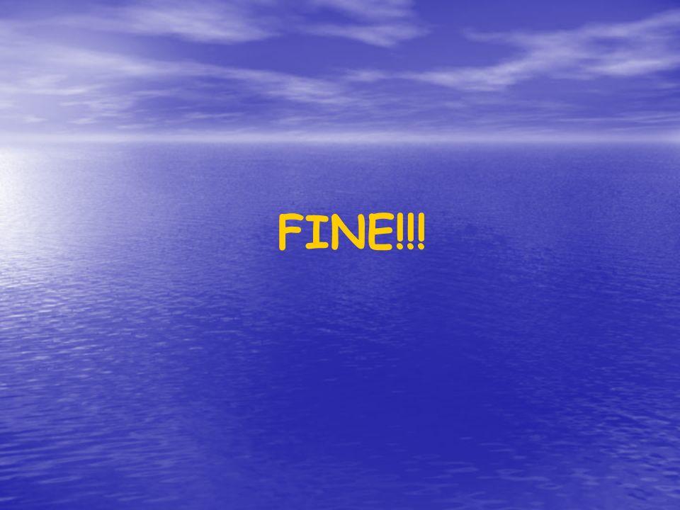 FINE!!!