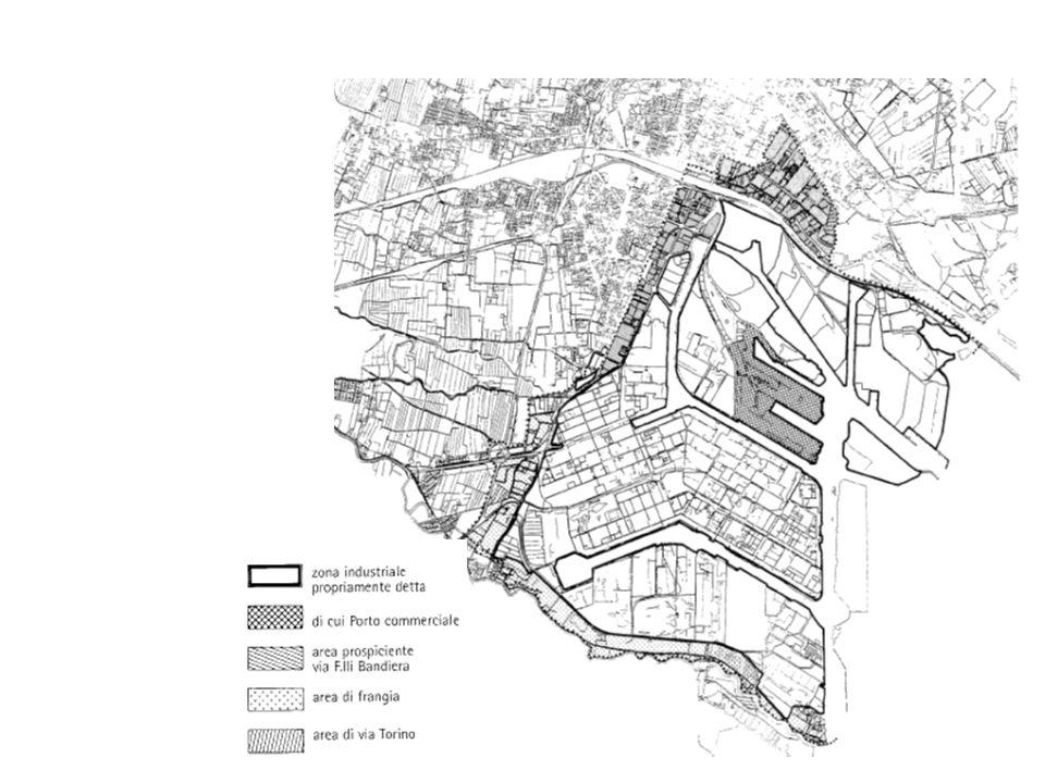 Grado di occupazione delle aree al 1995