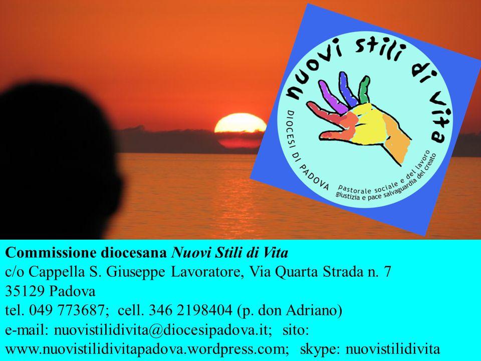 Commissione diocesana Nuovi Stili di Vita c/o Cappella S.