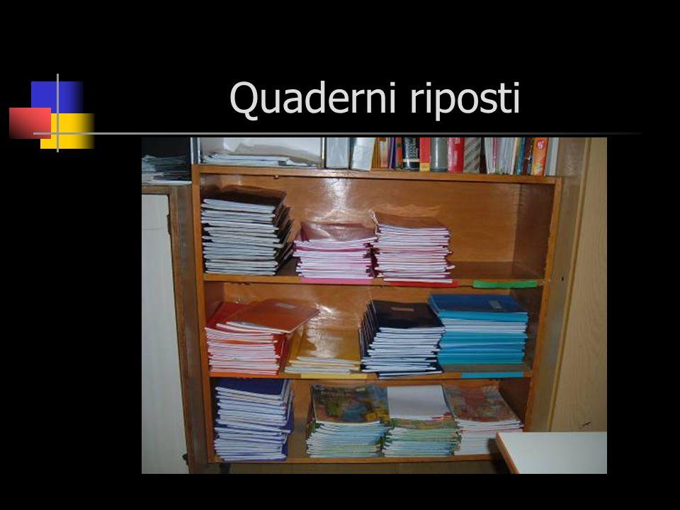 Quaderni riposti