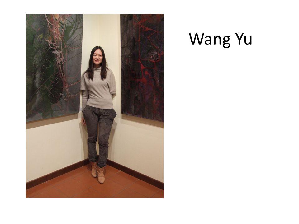 Nazionalità: Cinese ITER SCOLASTICO 2000/ 2004: Frequenta la Scuola Superiore Affiliata all ACCADEMIA CENTRALE DI BELLE ARTI Pechino, Cina.