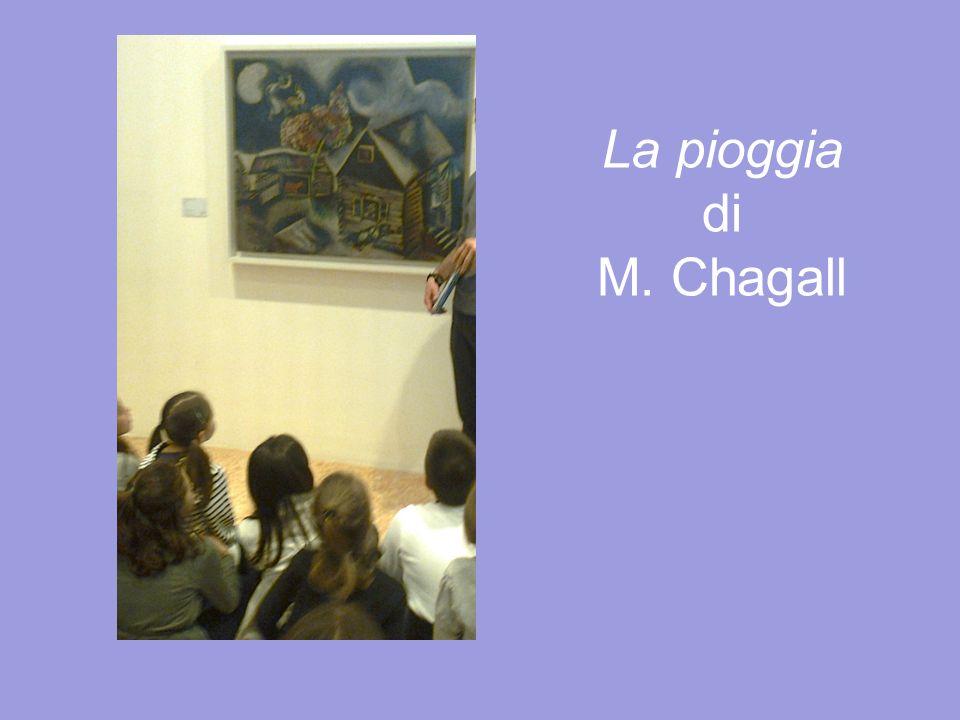 La pioggia di M. Chagall