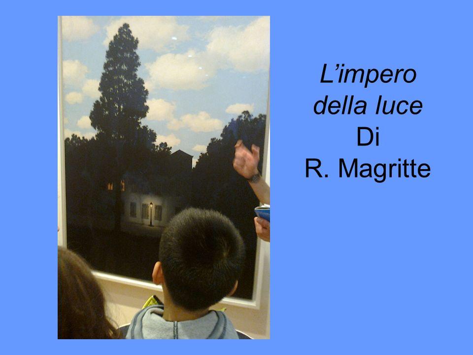 Limpero della luce Di R. Magritte