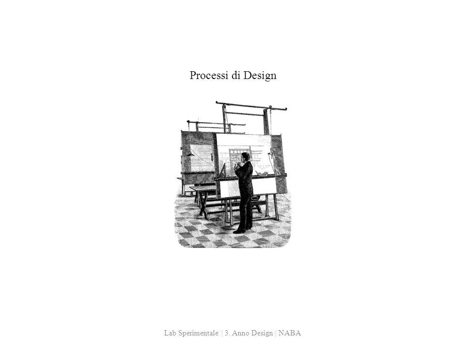 Processi di Design Lab Sperimentale | 3. Anno Design | NABA