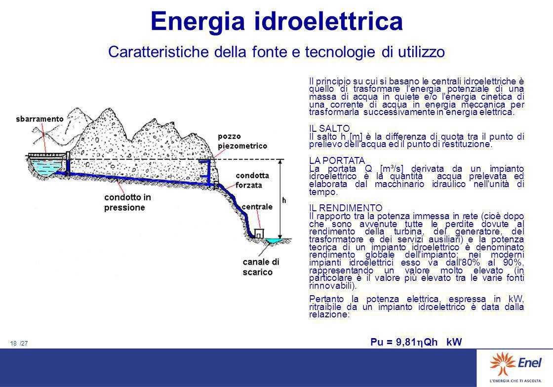 17 /27 Nel periodo 1958 – 62 vennero perforati alcuni pozzi, dallEnte Sardo Elettricità, nella zona Nord (Casteldoria, Coghinas) per verificare la pre