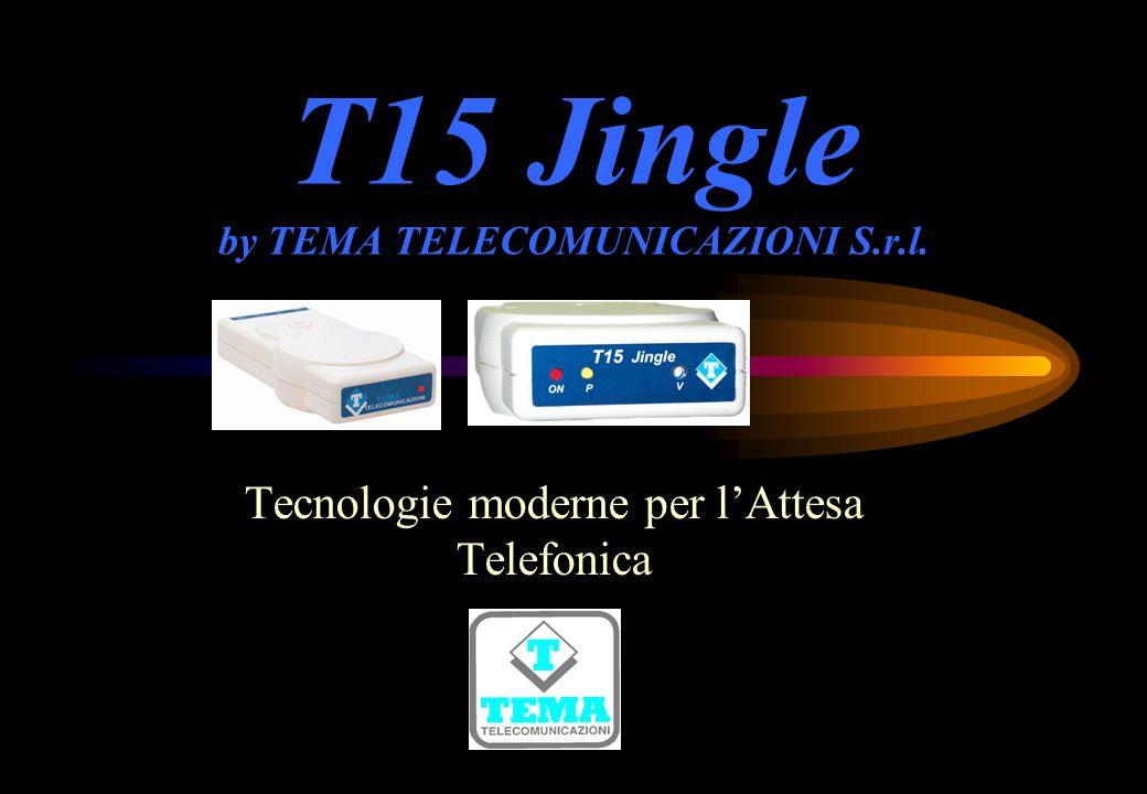 T15 Jingle by TEMA TELECOMUNICAZIONI S.r.l. Tecnologie moderne per lAttesa Telefonica