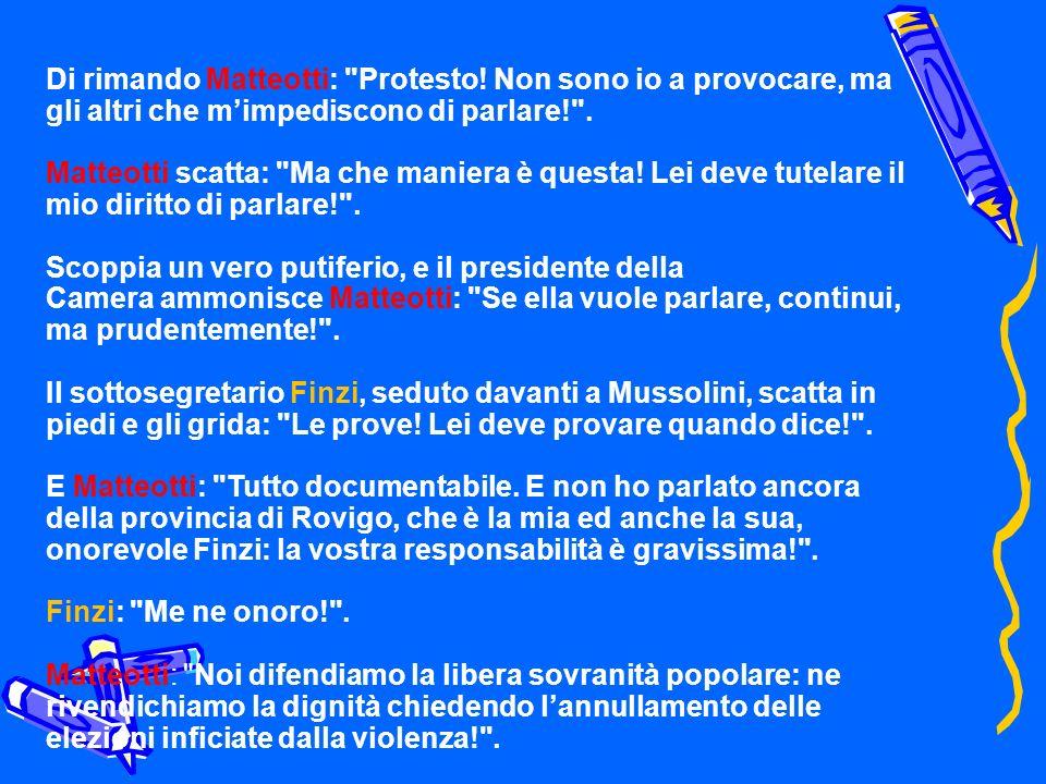 Di rimando Matteotti: