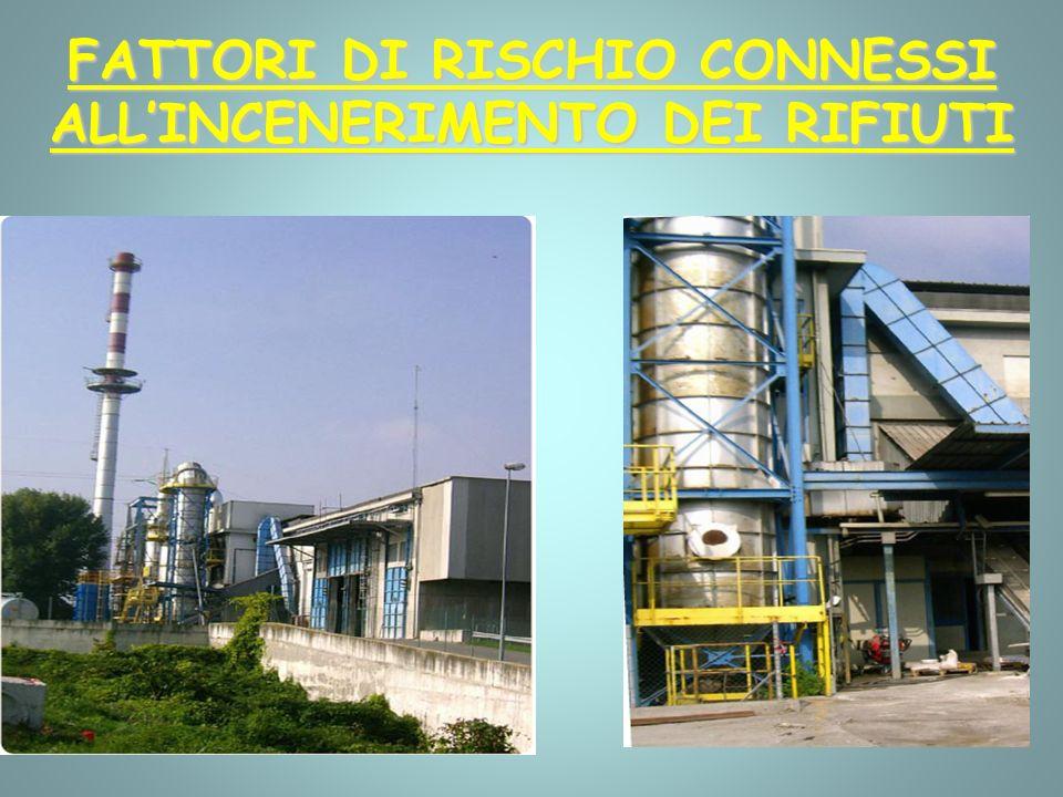 FATTORI DI RISCHIO CONNESSI ALLINCENERIMENTO DEI RIFIUTI