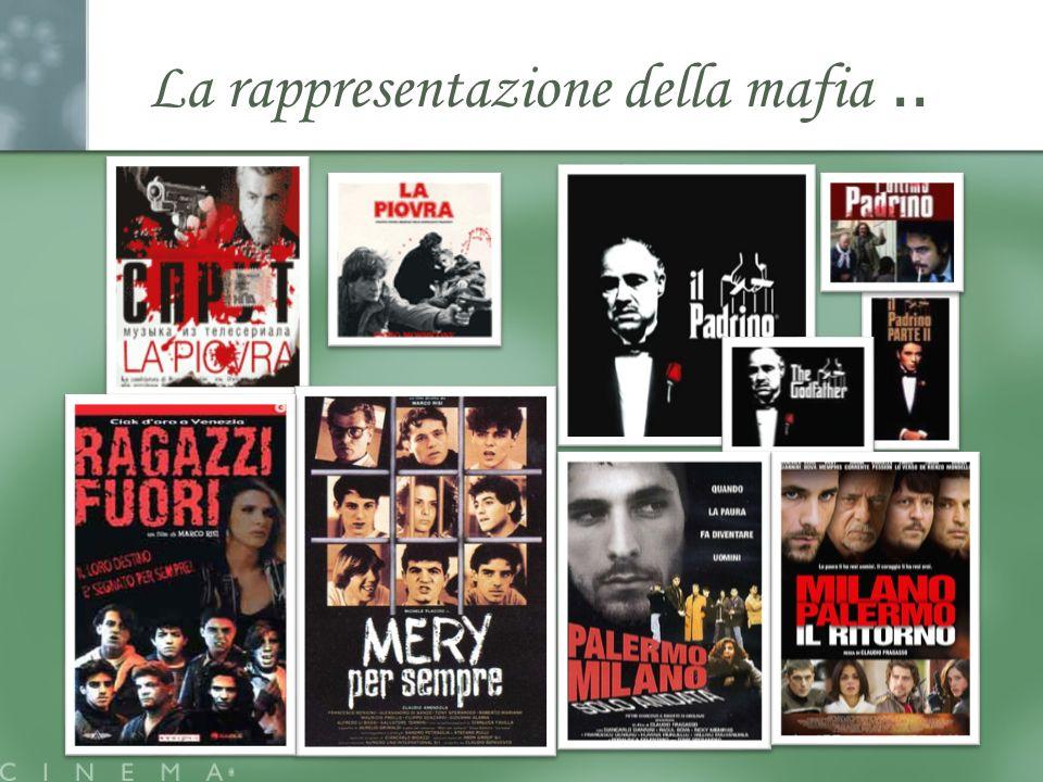 La rappresentazione della mafia..