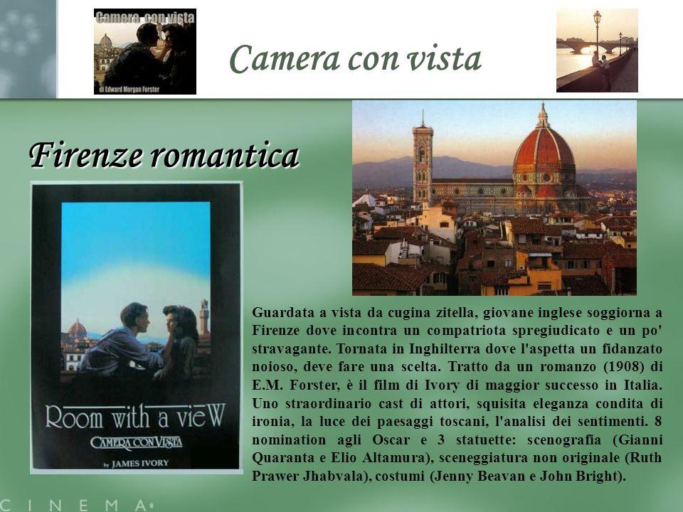 Camera con vista Firenze romantica Guardata a vista da cugina zitella, giovane inglese soggiorna a Firenze dove incontra un compatriota spregiudicato e un po stravagante.