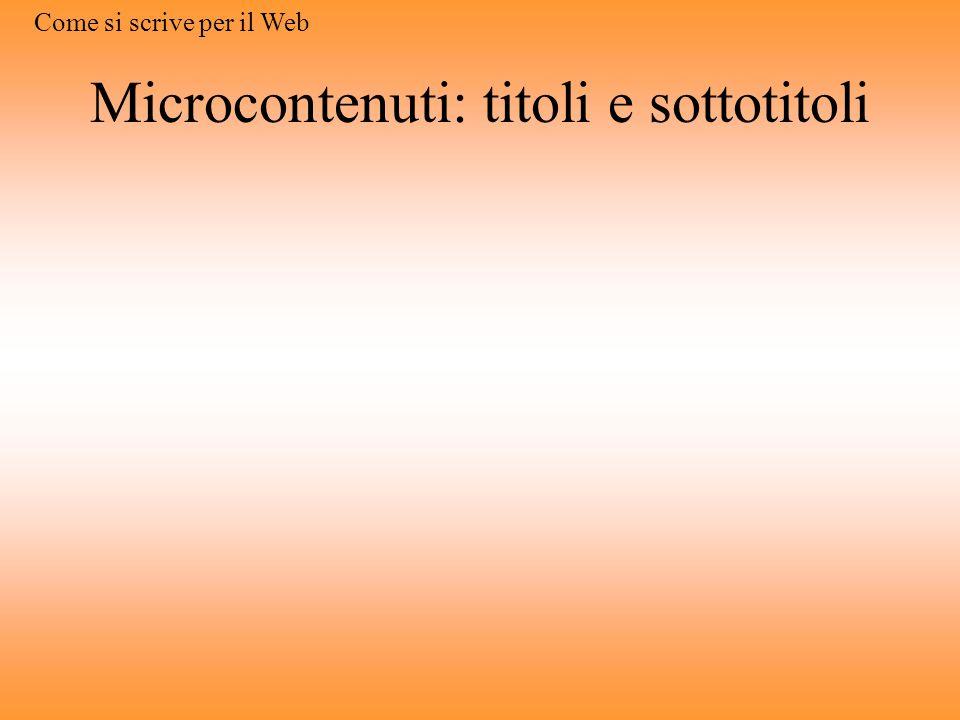 Microcontenuti: Alt <IMG alt=
