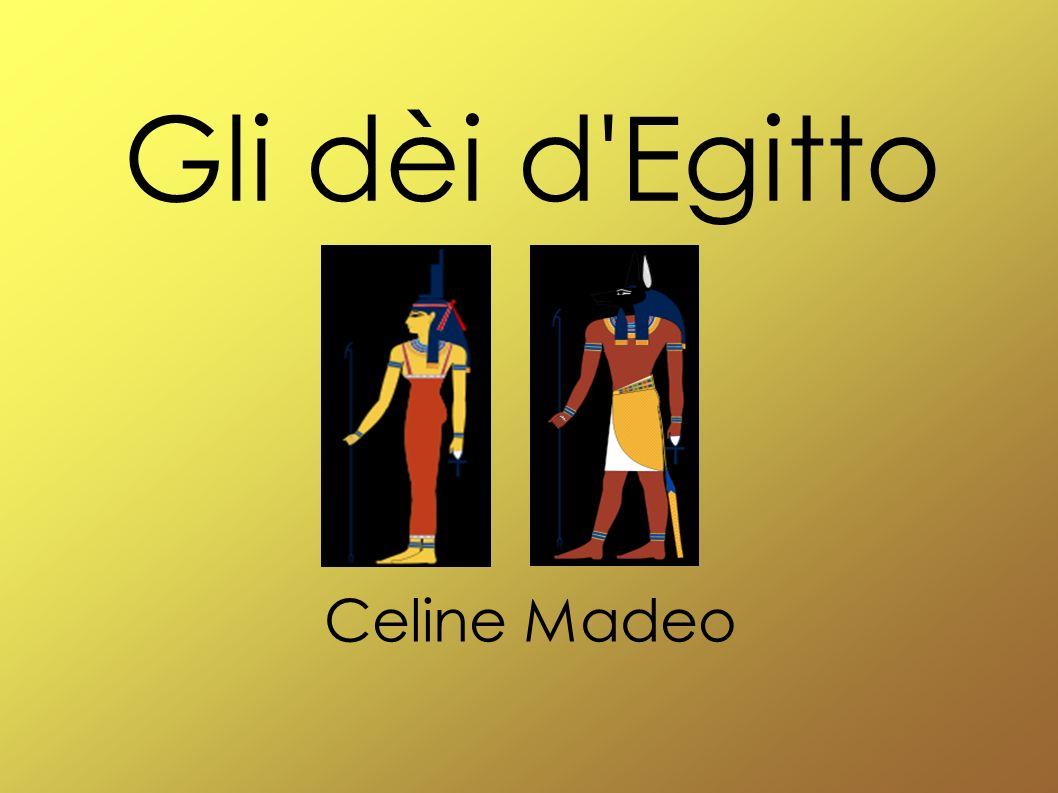 I temi Gli dèi più importanti Caratteristiche Dèi egiziani Altri dèi Immagini