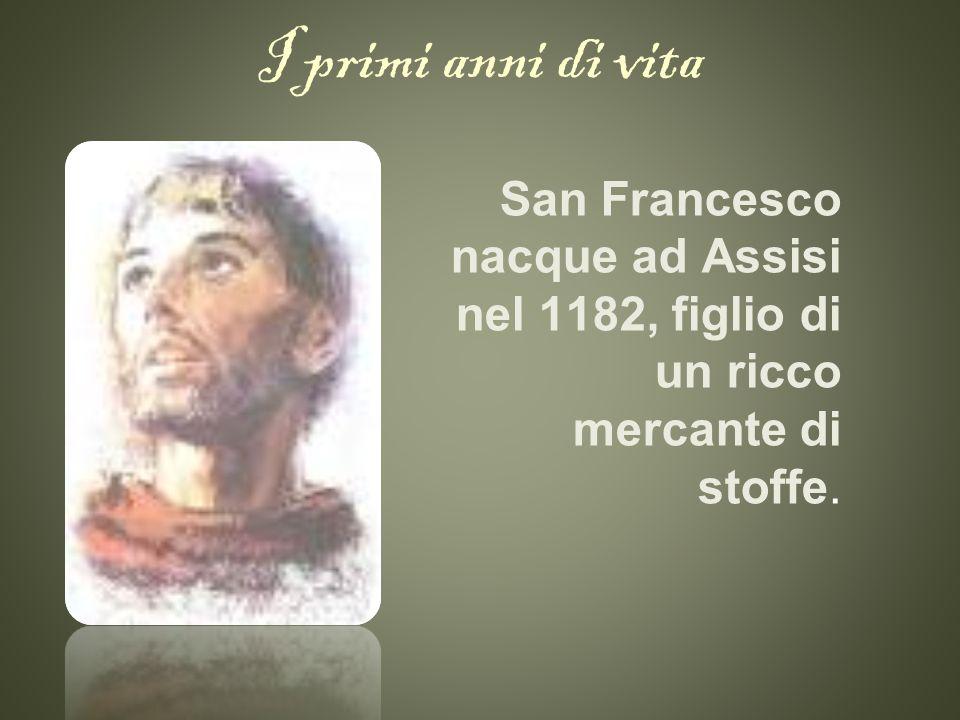 La conversione Partecipò alla guerra tra Assisi e Perugia, e venne tenuto prigioniero per più di un anno, durante il quale patì per una grave malattia che lo avrebbe indotto a mutare radicalmente lo stile di vita.