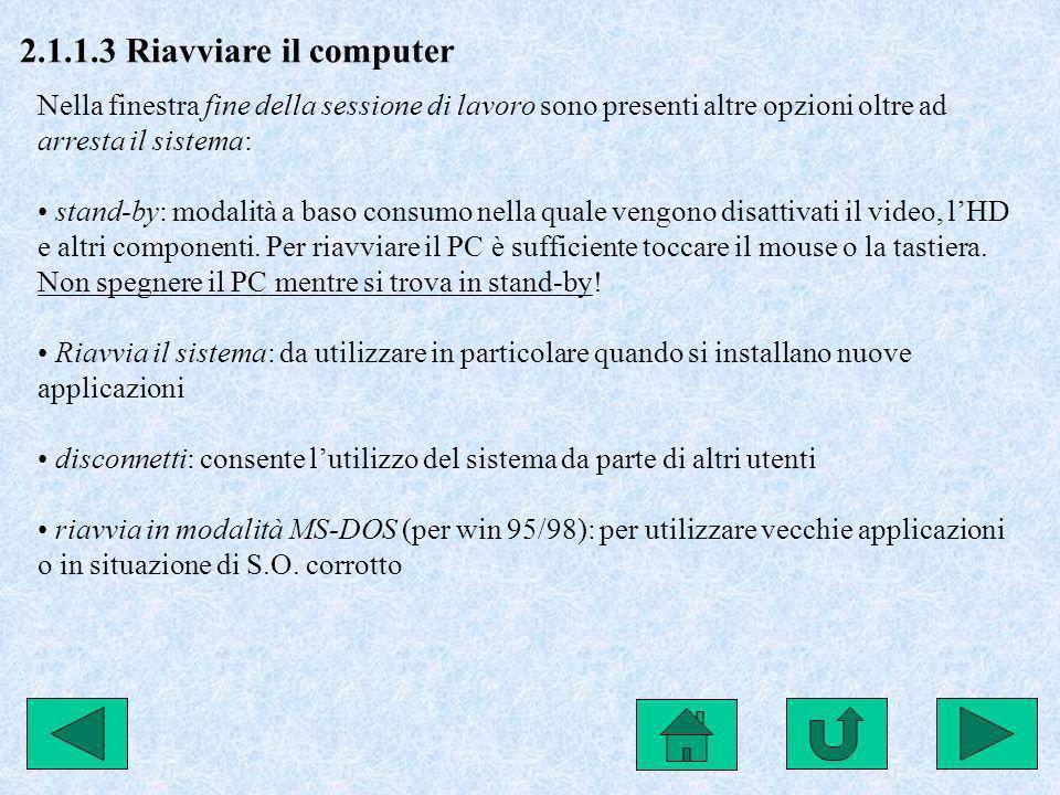 2.3.1.1 Capire la struttura di base delle cartelle in un PC Il file system si Windows è di tipo gerarchico ad albero inverso: