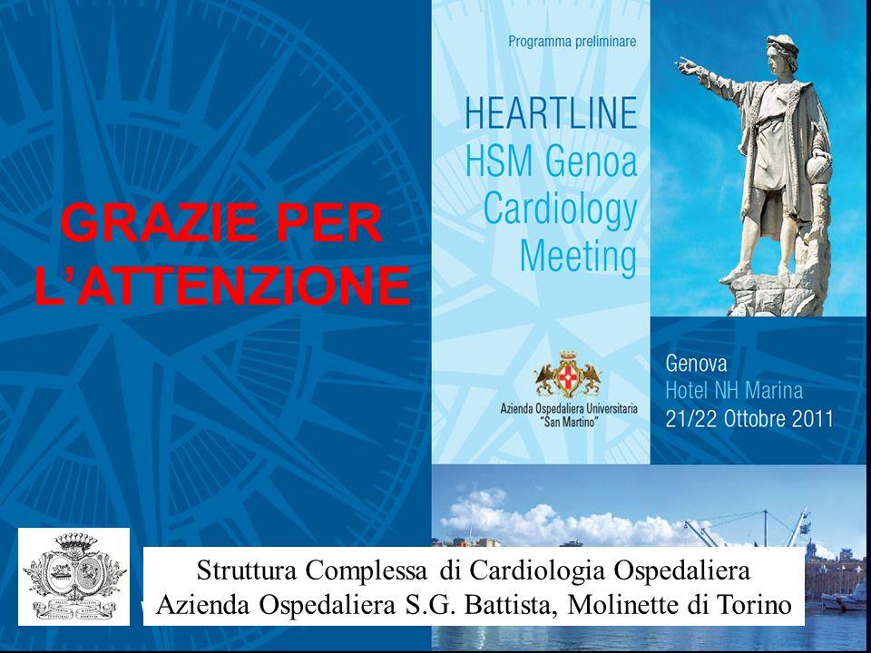 Struttura Complessa di Cardiologia Ospedaliera Azienda Ospedaliera S.G.