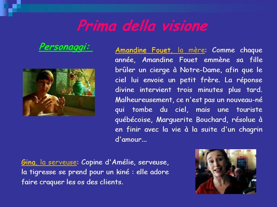 Prima della visione Personaggi: Amandine Fouet, la mèreAmandine Fouet, la mère: Comme chaque année, Amandine Fouet emmène sa fille brûler un cierge à