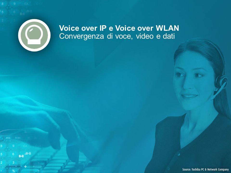 Voice over IP e Voice over WLAN Convergenza di voce, video e dati