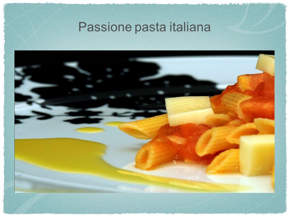 Passione pasta italiana