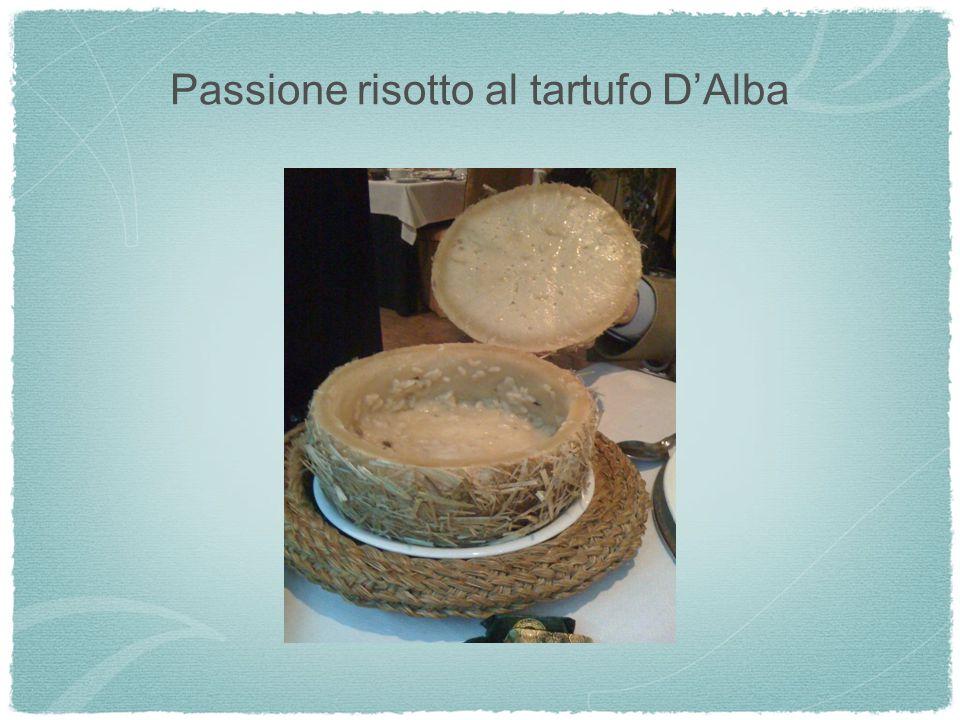 Passione risotto al tartufo DAlba