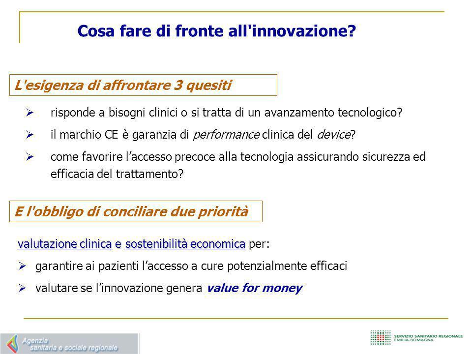 Innovazione TAVI : l esperienza della Regione Emilia-Romagna