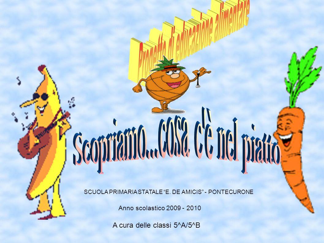 Anno scolastico 2009 - 2010 A cura delle classi 5^A/5^B SCUOLA PRIMARIA STATALE E. DE AMICIS - PONTECURONE
