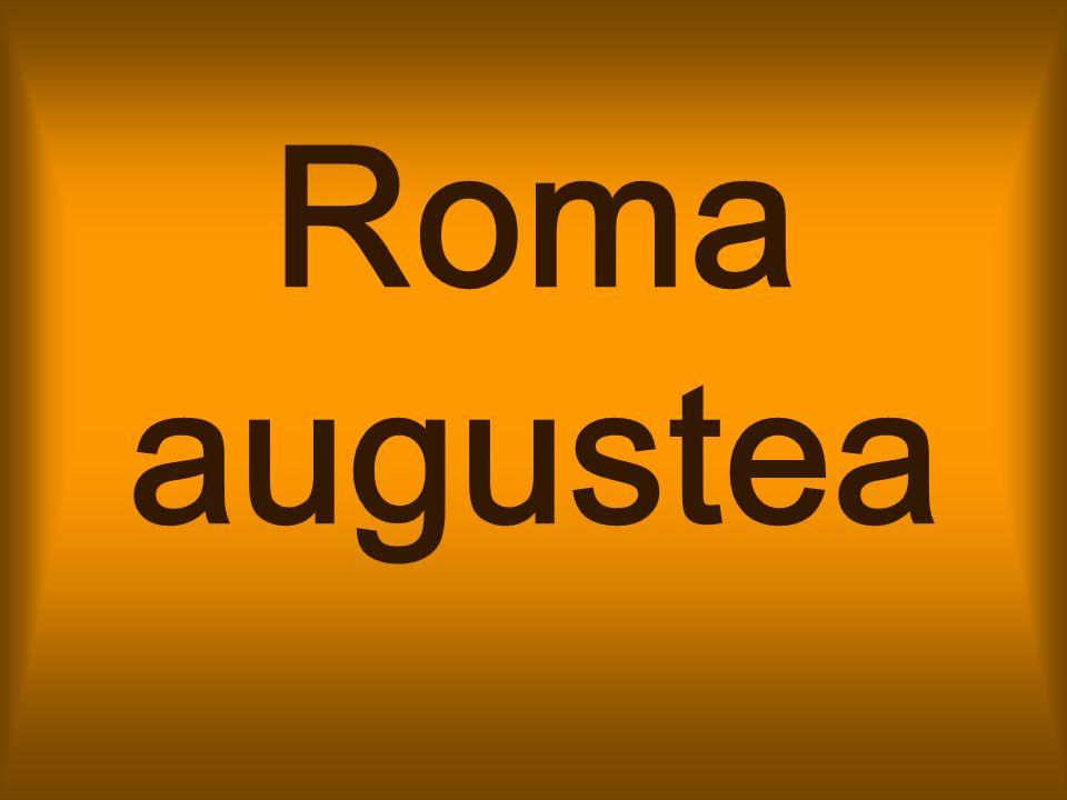 La divisione amministrativa della città di Roma in 14 regioni fu voluta da Augusto nel 7 a.C.