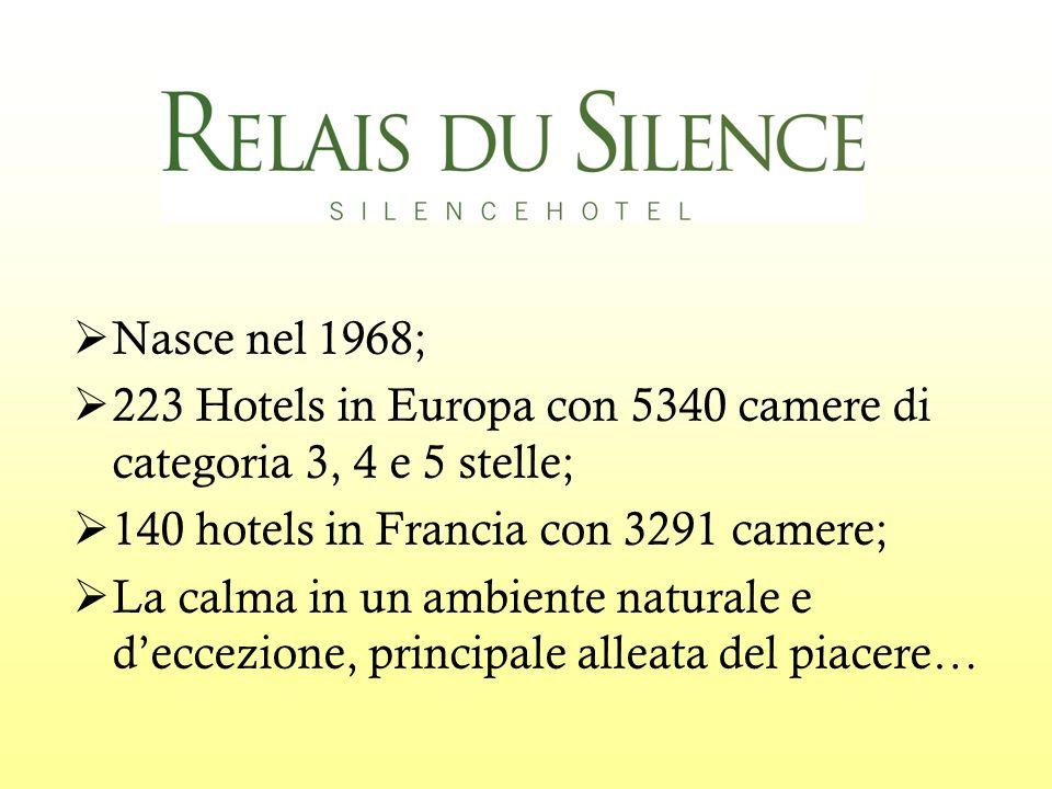 Nasce nel 1968; 223 Hotels in Europa con 5340 camere di categoria 3, 4 e 5 stelle; 140 hotels in Francia con 3291 camere; La calma in un ambiente naturale e deccezione, principale alleata del piacere…