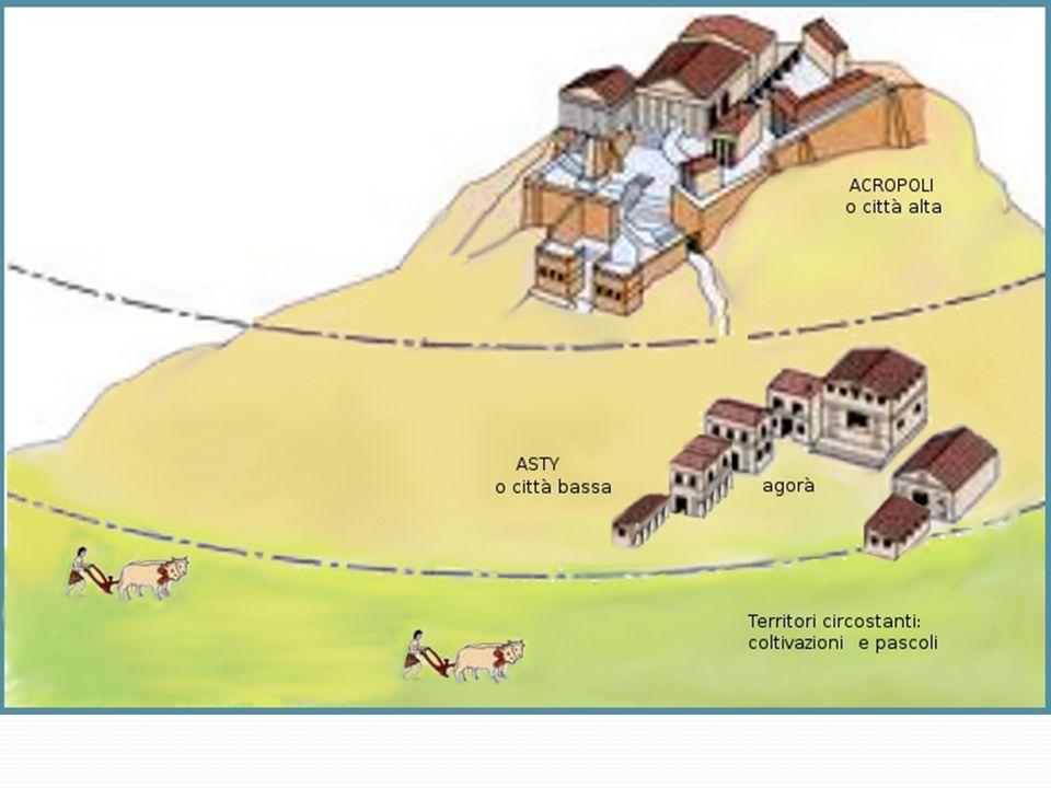 Attraverso un processo di sinecismo, si delineano le due poleis: SPARTA Nasce per fondazione di popolazioni greche di stirpe dorica che si insediano nel Peloponneso intorno al XI sec.