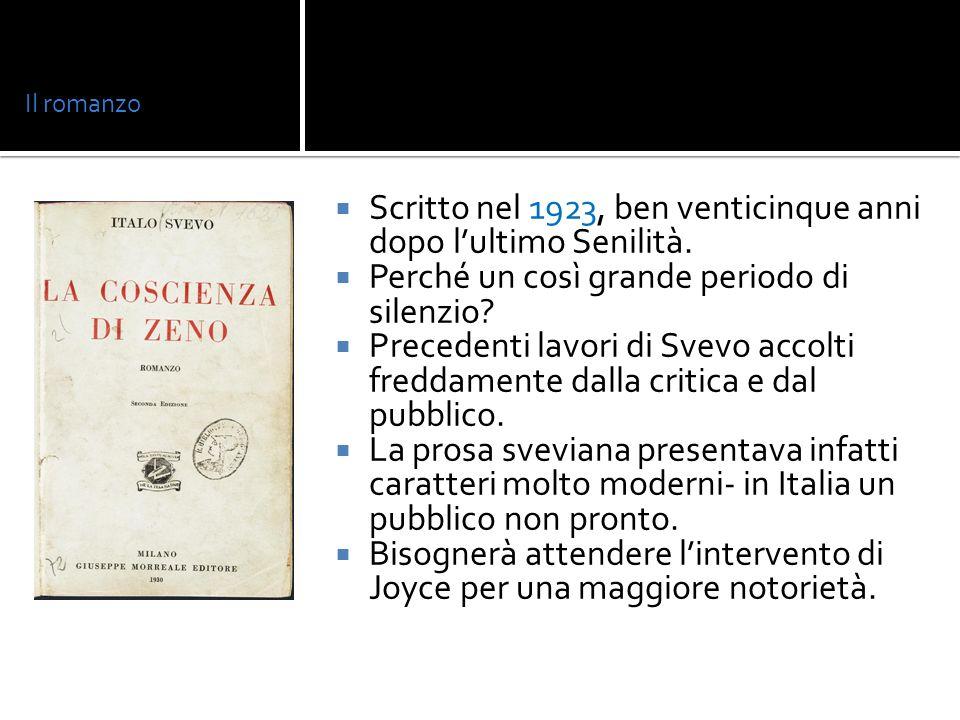 Zeno Cosini: tipico personaggio sveviano dell inetto.