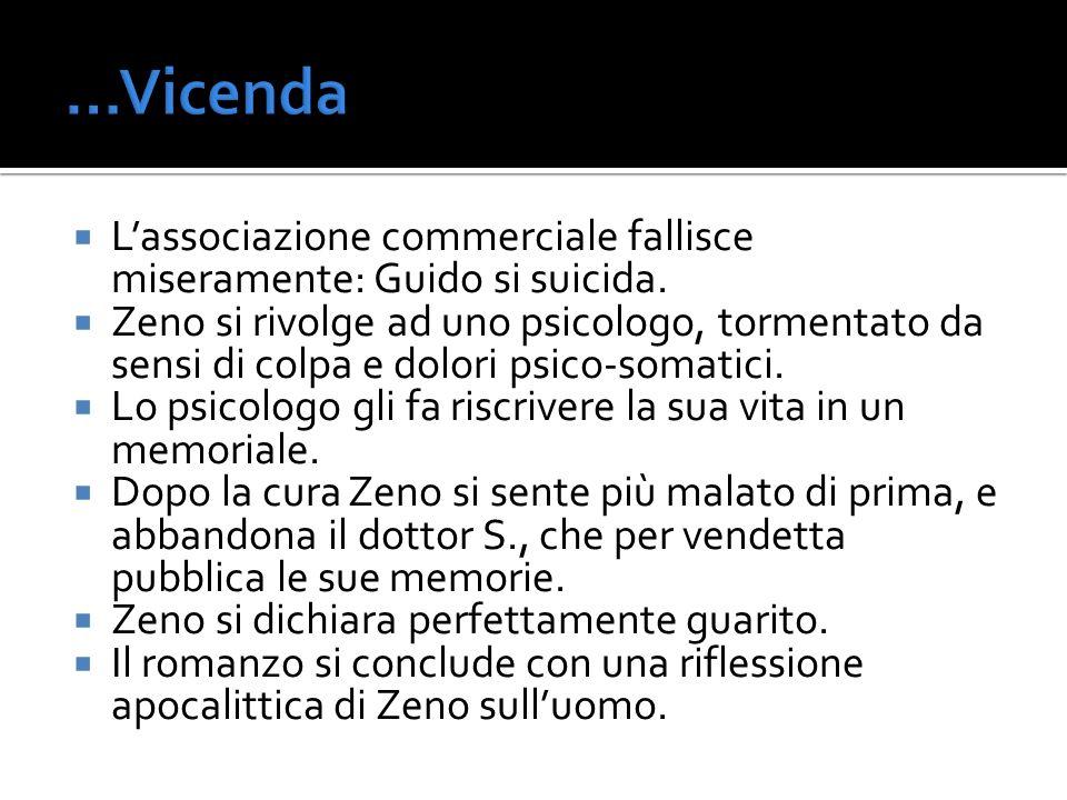 Rapporti con Pirandello Sono riscontrabili analogie fra i personaggi di Svevo e Pirandello.