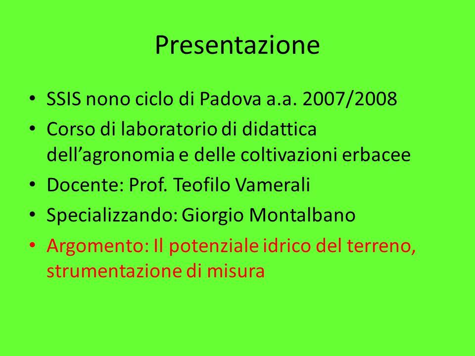Presentazione SSIS nono ciclo di Padova a.a.