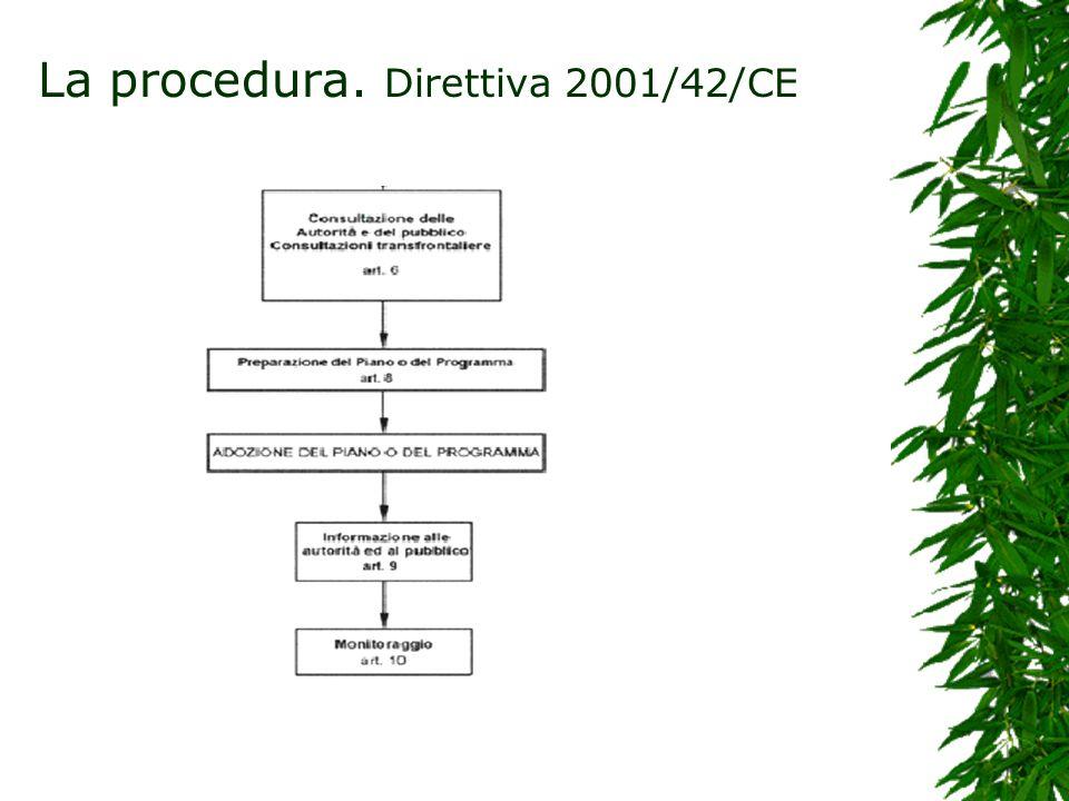 La V.A.S.del BP. 336 – Normativa Regionale 1. Avviso di avvio del procedimento; 2.