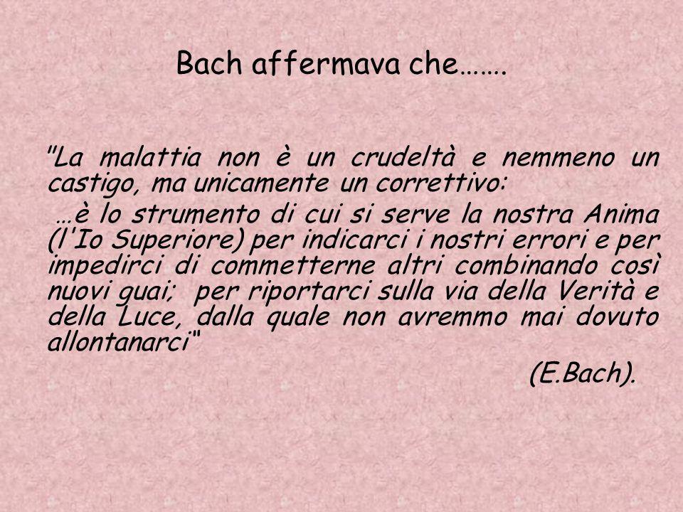 Bach affermava che…….